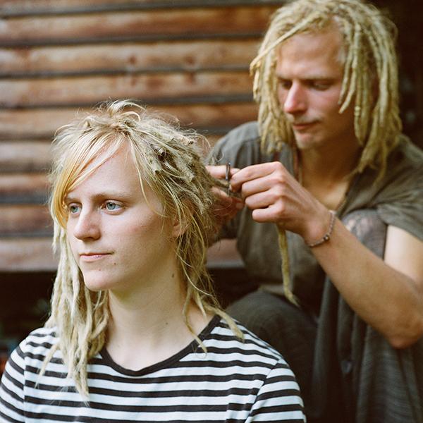 cutting dreads